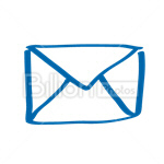 Сlipart Envelope E-Mail Mail Mailbox Inbox vector icon cut out BillionPhotos