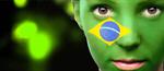 Сlipart Brazil Flag on Human Face Brazilian Little Boys Brazilian Flag Child   BillionPhotos