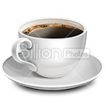 Сlipart Coffee Coffee Cup Cup Cafe Espresso vector icon cut out BillionPhotos