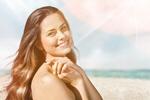 Сlipart sun face woman cream water   BillionPhotos
