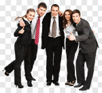 Сlipart Business Team People Occupation Success photo cut out BillionPhotos