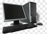 Сlipart Computer Desktop PC PC Network Server Isolated photo cut out BillionPhotos
