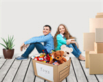 Сlipart Moving House Home Interior Residential Structure Loan Couple   BillionPhotos