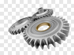 Сlipart Gear Industry Technology Teamwork Machine 3d cut out BillionPhotos