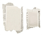 Сlipart Newspaper Classified Ad Advertisement Backgrounds Torn photo  BillionPhotos