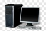 Сlipart Computer Desktop PC PC Computer Part Isolated photo cut out BillionPhotos
