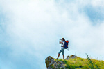 Сlipart Hiking Women Mountain Mountain Peak On Top Of photo  BillionPhotos