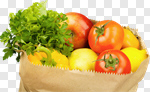 Сlipart Groceries Paper Bag Bag Fruit Healthy Eating photo cut out BillionPhotos