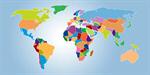 Сlipart World Map Map Earth Vector Politics vector  BillionPhotos