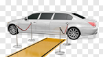 Сlipart Limousine Red Carpet Car Luxury Carpet 3d cut out BillionPhotos