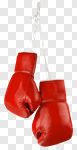Сlipart Boxing Glove Sports Glove Sport Hanging Red photo cut out BillionPhotos