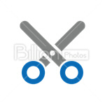 Сlipart Scissors vector icon cut out BillionPhotos