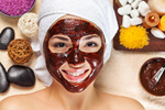 Сlipart facial mask face treatment woman photo  BillionPhotos
