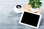 Сlipart ipad tablet cafe web white photo  BillionPhotos