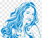 Сlipart Human Hair Women Beauty Beauty Spa Human Face vector cut out BillionPhotos