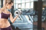 Сlipart gym woman strong weight girl sport   BillionPhotos
