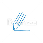 Сlipart Pencil new letter new mail new email write email vector icon cut out BillionPhotos