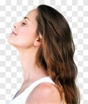 Сlipart breathe breath woman fresh calm photo cut out BillionPhotos