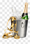 Сlipart New Year's Eve Champagne Congratulating Party Celebration photo cut out BillionPhotos