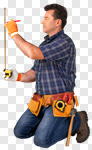 Сlipart Construction Worker Manual Worker Building Contractor Construction Repairman photo cut out BillionPhotos