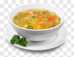 Сlipart Soup on the plate Vegetable Soup Bowl Food Vegetable photo cut out BillionPhotos
