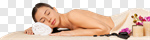 Сlipart spa woman relaxing care skin photo cut out BillionPhotos