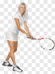 Сlipart Woman playing in tennis Tennis Playing Isolated Women photo cut out BillionPhotos