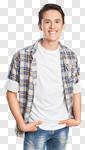 Сlipart Men Young Men Young Adult Portrait Casual photo cut out BillionPhotos
