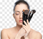 Сlipart Make-up Beauty Women Human Face Fashion Model photo cut out BillionPhotos
