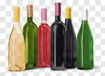 Сlipart Wine Bottle Bottle Wine White Alcohol photo cut out BillionPhotos