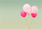 Сlipart balloon pink retro birthday hipster   BillionPhotos
