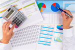 Сlipart Finance Tax Analyzing Business Chart photo  BillionPhotos