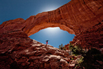 Сlipart Utah Natural Arch Delicate Arch Scenics Arches National Park photo  BillionPhotos
