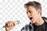 Сlipart rock show star singer roll photo cut out BillionPhotos