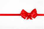 Сlipart Christmas Ribbon Bow Gift Birthday photo  BillionPhotos