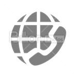 Сlipart call call worldwide international international call communication vector icon cut out BillionPhotos