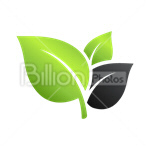 Сlipart leaf leaves green eco ecology vector icon cut out BillionPhotos