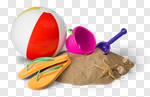 Сlipart Beach Beach Ball Toy Ball Leisure Games photo cut out BillionPhotos