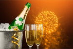 Сlipart New Year's Eve Champagne New Year's Day Ice Bucket Toast   BillionPhotos