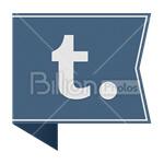 Сlipart tumblr tumblr.com Social Media social button Sharing vector icon cut out BillionPhotos