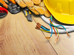 Сlipart Electrician Electricity Work Tool Hardhat Power Cable   BillionPhotos