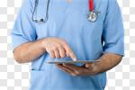 Сlipart doctor medical portal virtual network photo cut out BillionPhotos