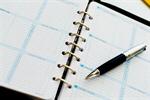 Сlipart agenda calendar executive binder page photo  BillionPhotos