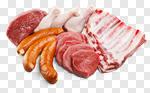 Сlipart Meat Raw Sausage Chicken Steak photo cut out BillionPhotos