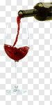 Сlipart Wine Pouring Glass Red Wine Wine Bottle photo cut out BillionPhotos