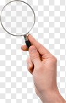 Сlipart Magnifying Glass Research Human Hand Scientific Experiment Searching photo cut out BillionPhotos