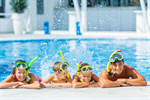 Сlipart pool fun smiling outdoors water photo  BillionPhotos