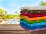 Сlipart Towel Laundry Stack Folded Multi Colored   BillionPhotos