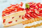 Сlipart cake decoration summer closeup strawberry photo  BillionPhotos