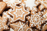 Сlipart Christmas Cookie Gingerbread Cookie Snowflake Holiday photo  BillionPhotos